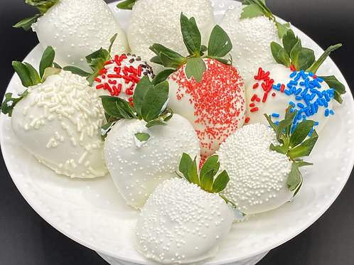 White Chocolate Covered Strawberry