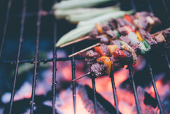 Some Kebabs on the Grill