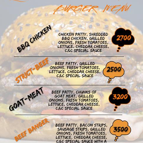 The Burger Menu
