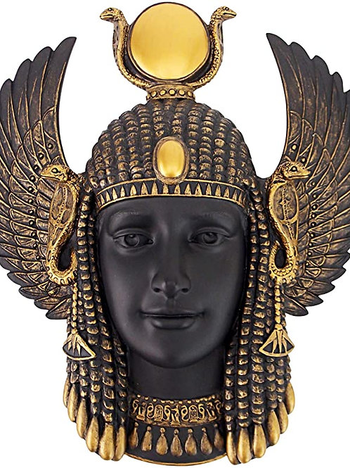 Goddess Isis Wall Sculpture