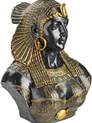 Queen Cleopatra Resin Sculpture