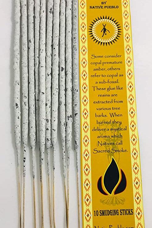 Native Copal Incense 100% Pure White