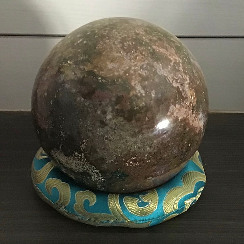 Ocean Jasper Crystal Ball (medium)