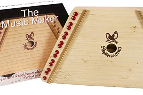Music Maker - Hand Made Lap Harp