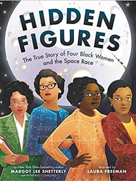 Hidden Figures: The True Story of Four Black Women and the Space Race(paperback)