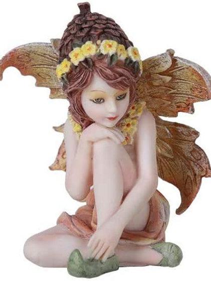 Pacific Giftware Fairy Garden Acorn Flower Fairy