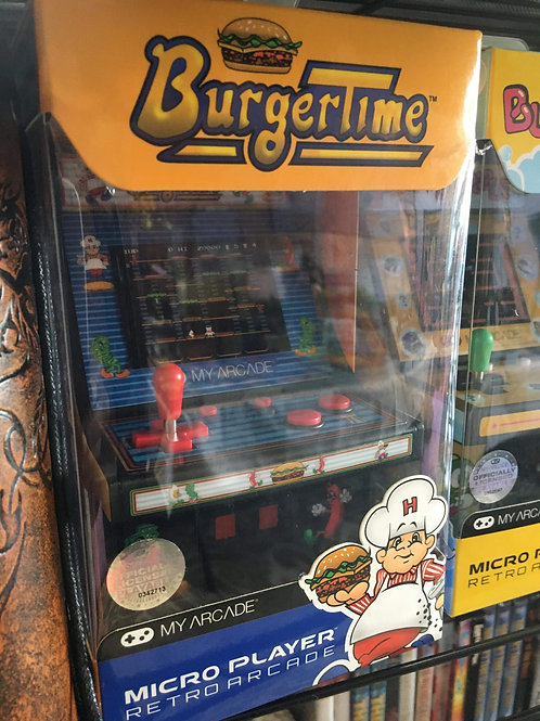 Burger Time personal mini arcade game