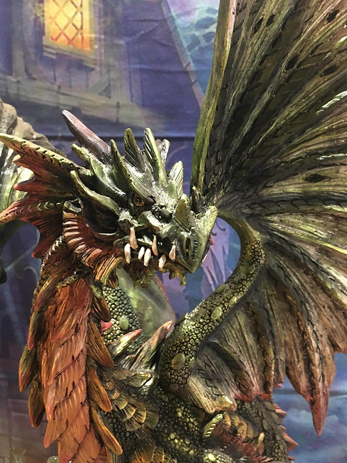 "26""H Green Treasure Guardian Dragon"