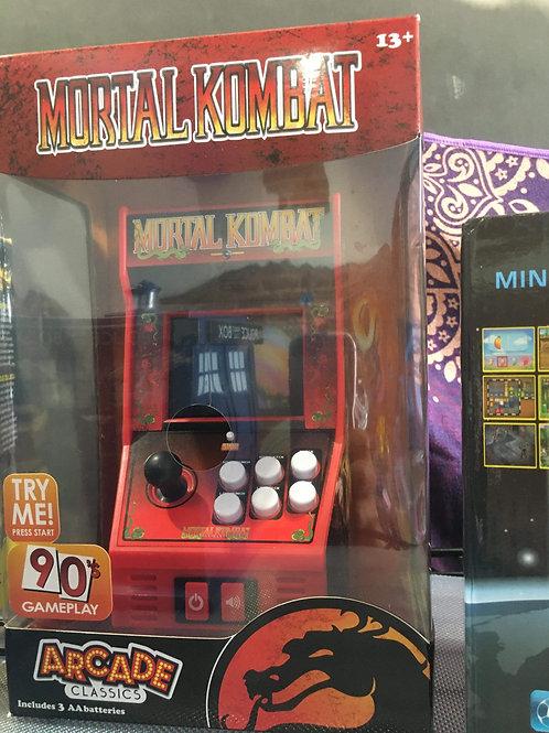 Mortal Kombat personal mini arcade game