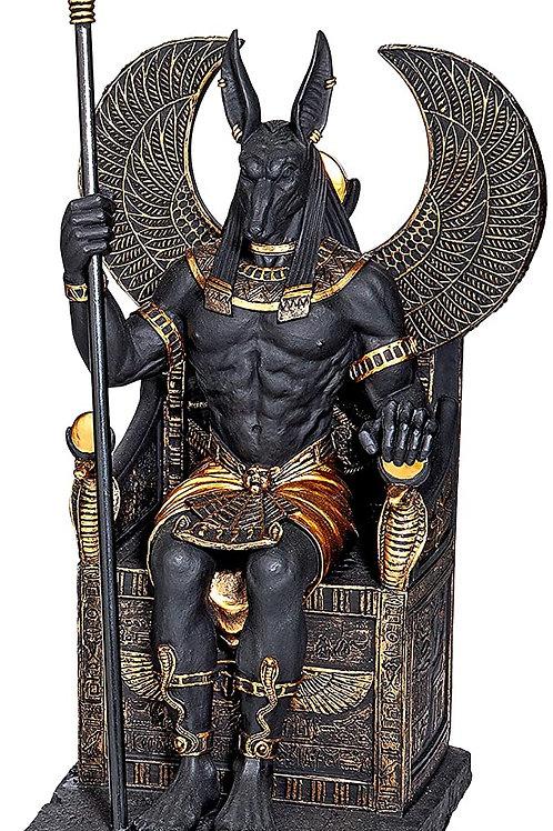 Design Toscano Egyptian God Anubis Sitting