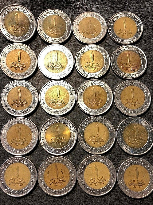 King Tut Egyptian Coins Out of Circulation (5)