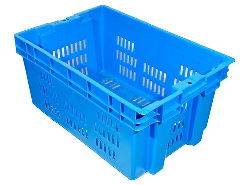 Caja de Plastico Toronto Calada Azul