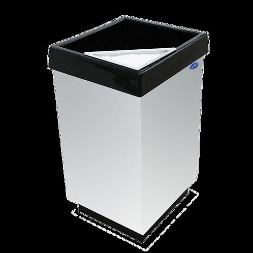 Cenicero Cubo tapa plana 38x38x65 2466