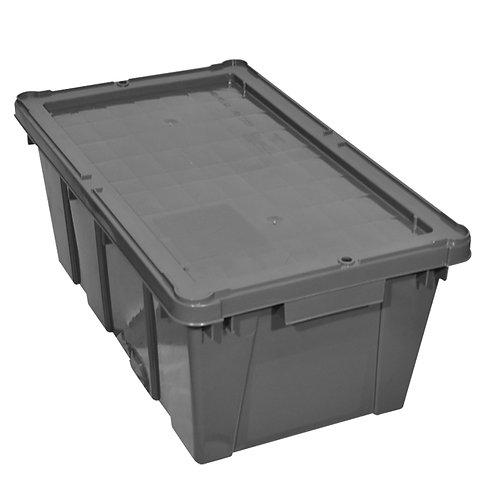 Caja de plastico con Tapa Canada