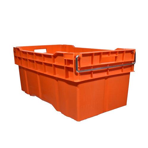 Caja Enfilable Cerrada con Asa Metal 78cm x 45cm x 35cm