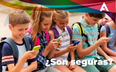 ¿Que tan seguras son las apps para niños?