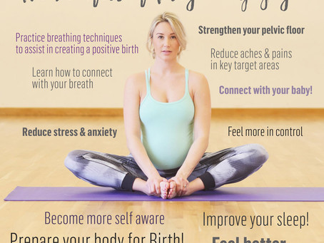 Pregnancy Yoga benefits!