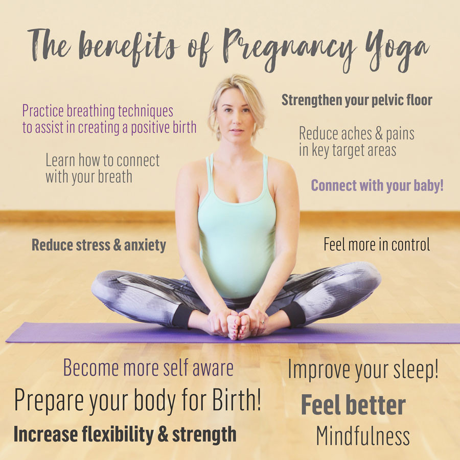 Pregnancy Yoga Benefits