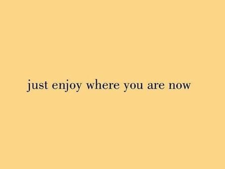 Enjoy your pregnancy