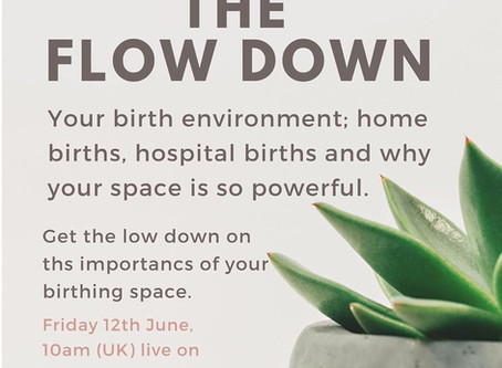 Birth environments Flow Down TALK