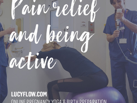 PAIN RELIEF & BEING ACTIVE