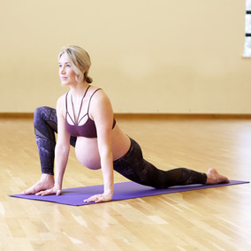 Pregnancy yoga studio
