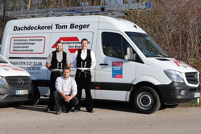 Dachdeckerei Tom Beger Team