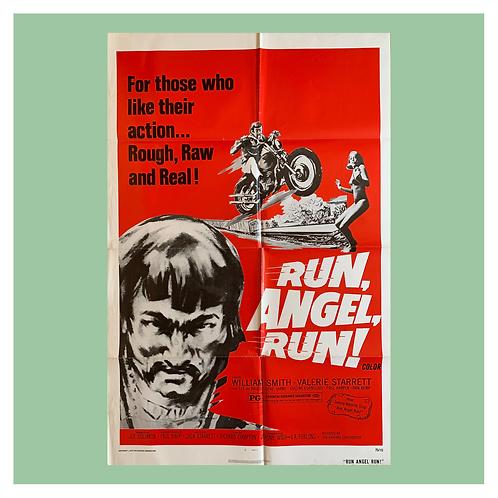 Run, Angel, Run! (1969) Original Movie Poster