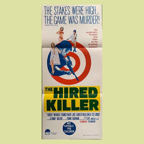 The Hired Killer (1966) Original Poster