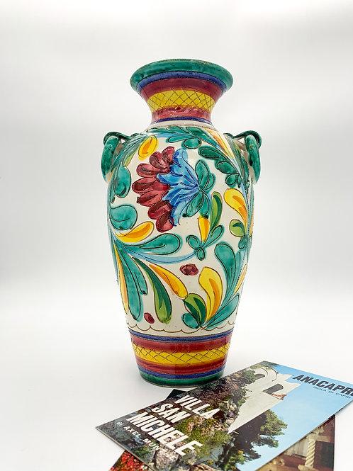 Hand Painted Italian Vase