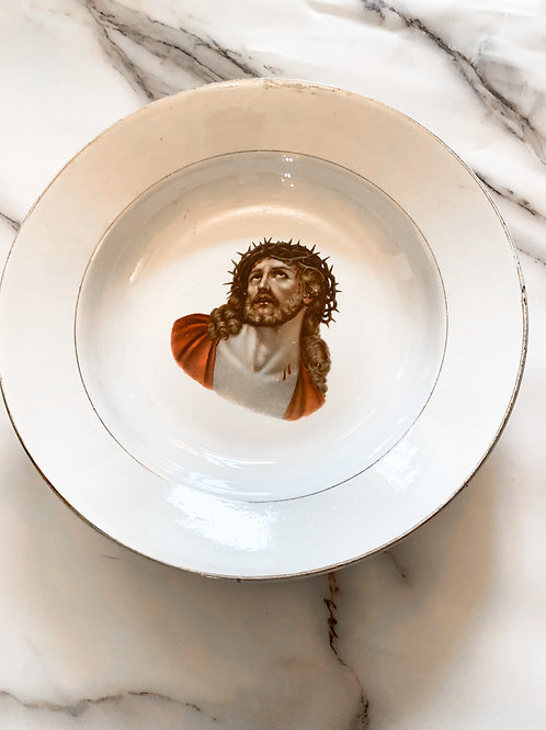 French Jesus Plate