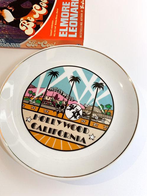 Hollywood Souvenir Plate