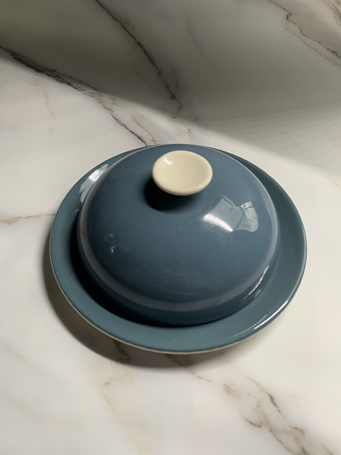 Mid Century Poole Butter Dish