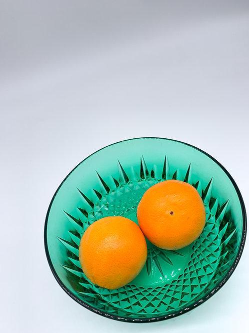 French Arcoroc Glass Bowl