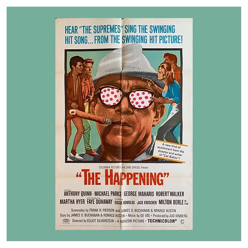 The Happening (1967) Original Movie Poster