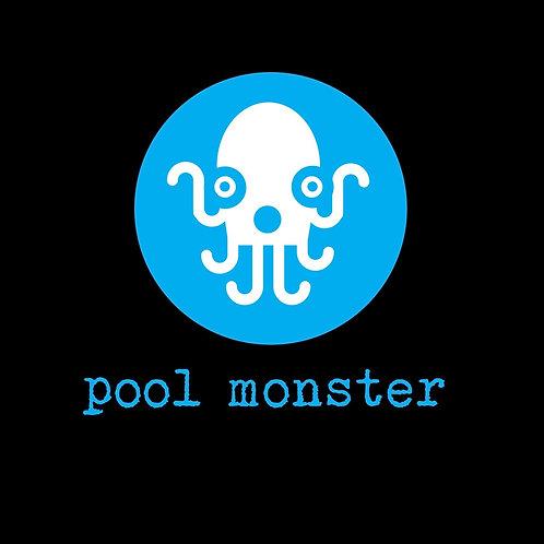 PoolMonsterBlK.Cyan 26