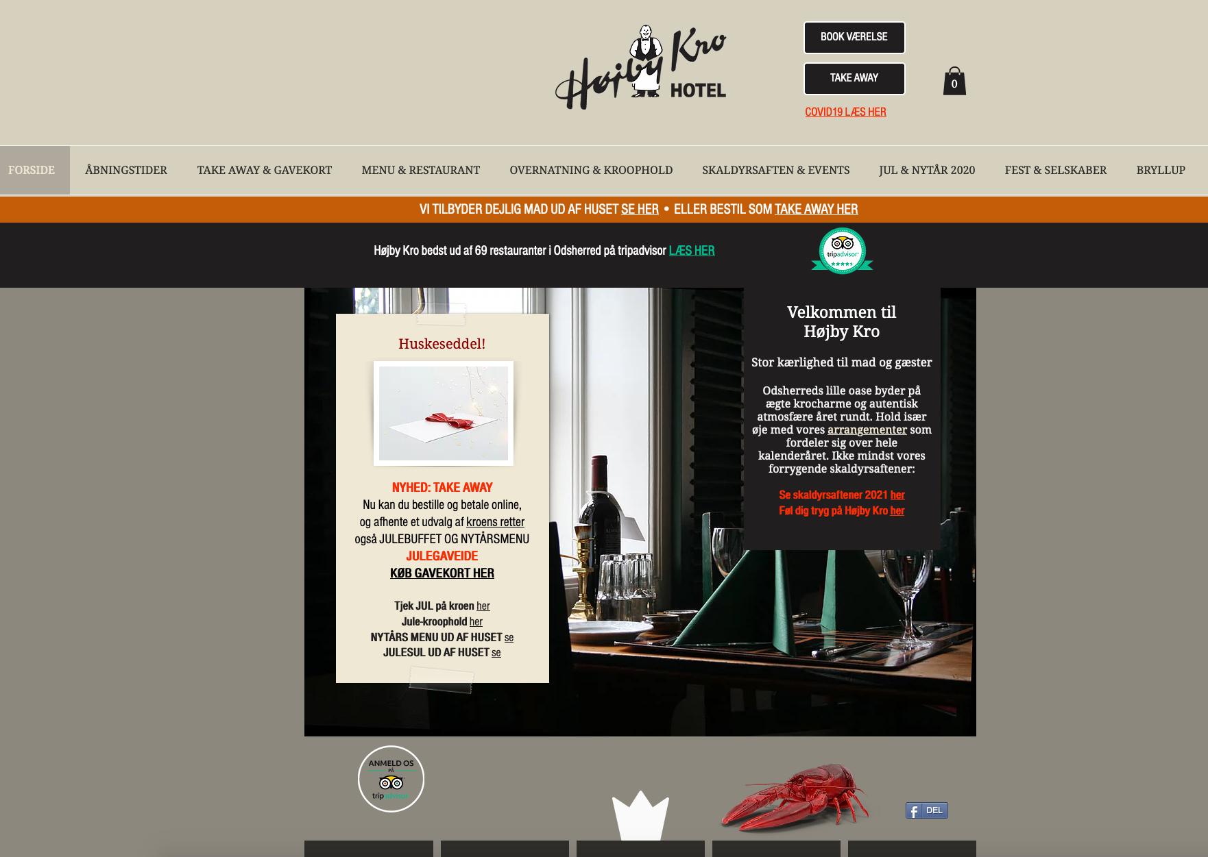 Højby Kro & Hotel | TAKE AWAY