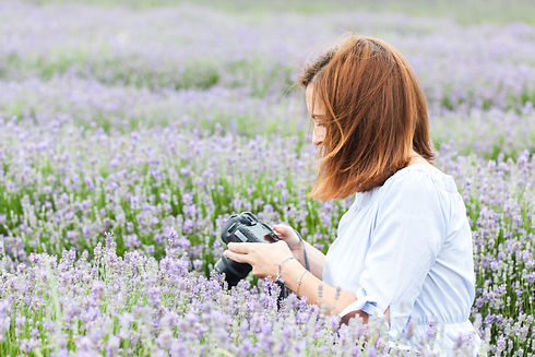 Me taking photos - lavender-IMG_7658.jpg
