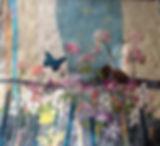 flower garden w butterflies birds.jpg