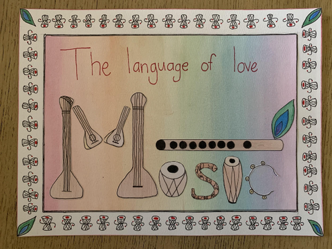 1st Prize - Language of Love (Composition)