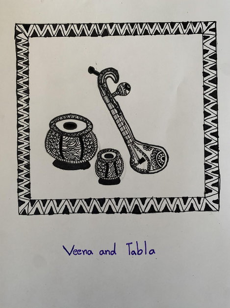 3rd Prize - Veena and Tabla (Composition)