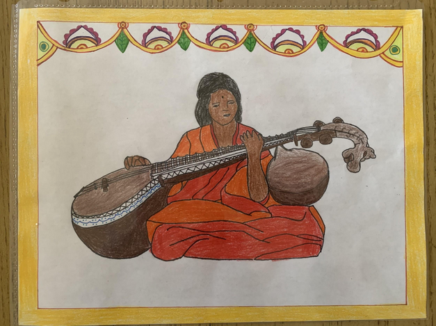 2nd Prize - Saraswati Veena