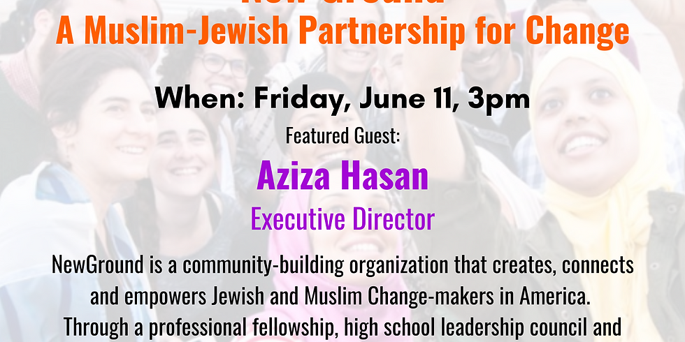 Courageous Conversations with Aziza Hasan of NewGround