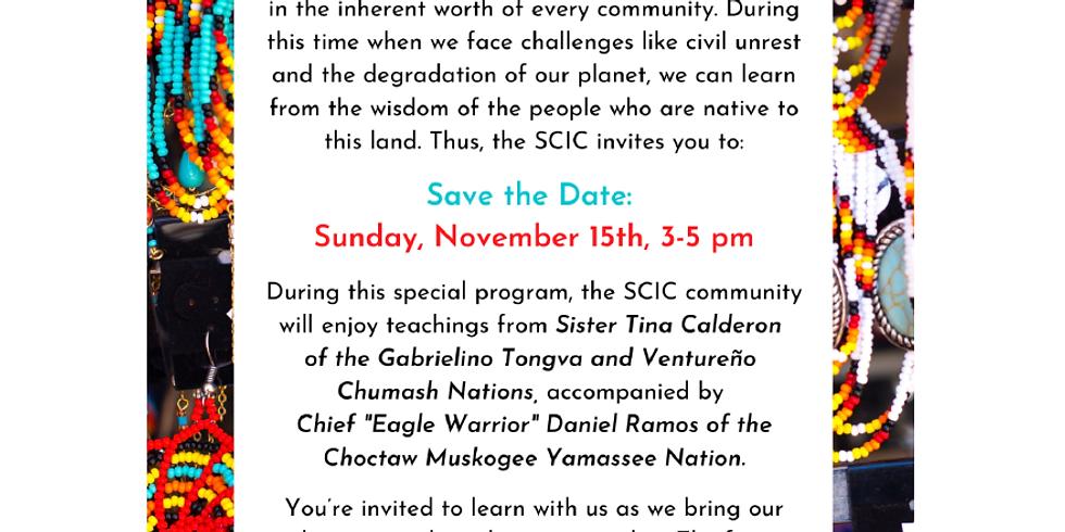 Native Wisdom - SAVE THE DATE