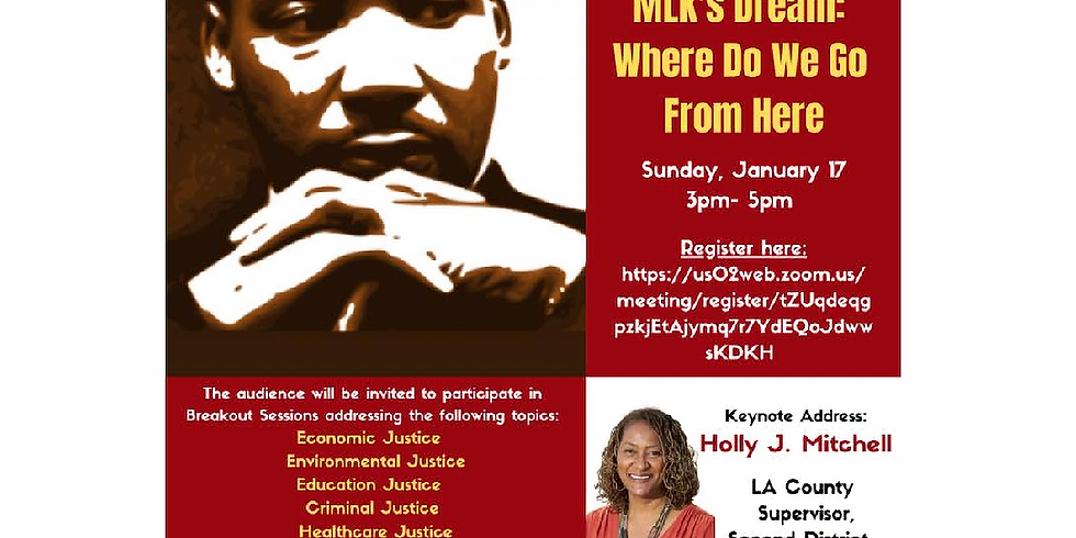 Furthering MLK's Dream: Where Do We Go From Here
