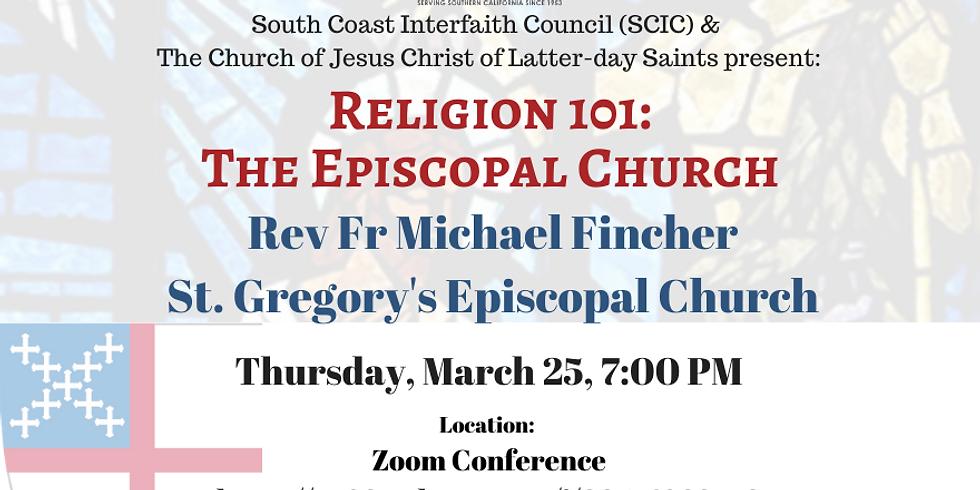 Religion 101 - The Episcopal Church