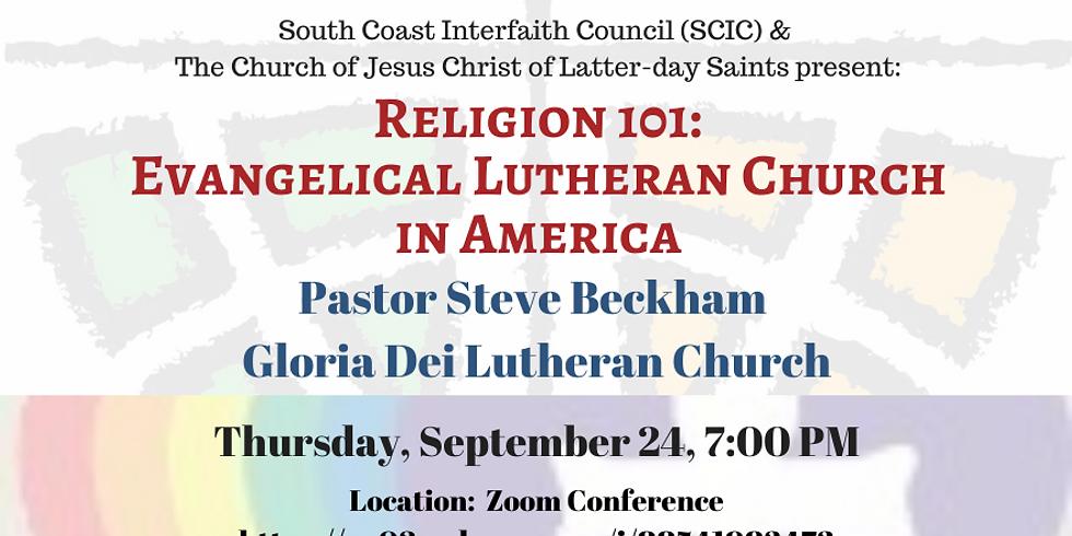 Religion 101 - Evangelical Lutheran Church in America