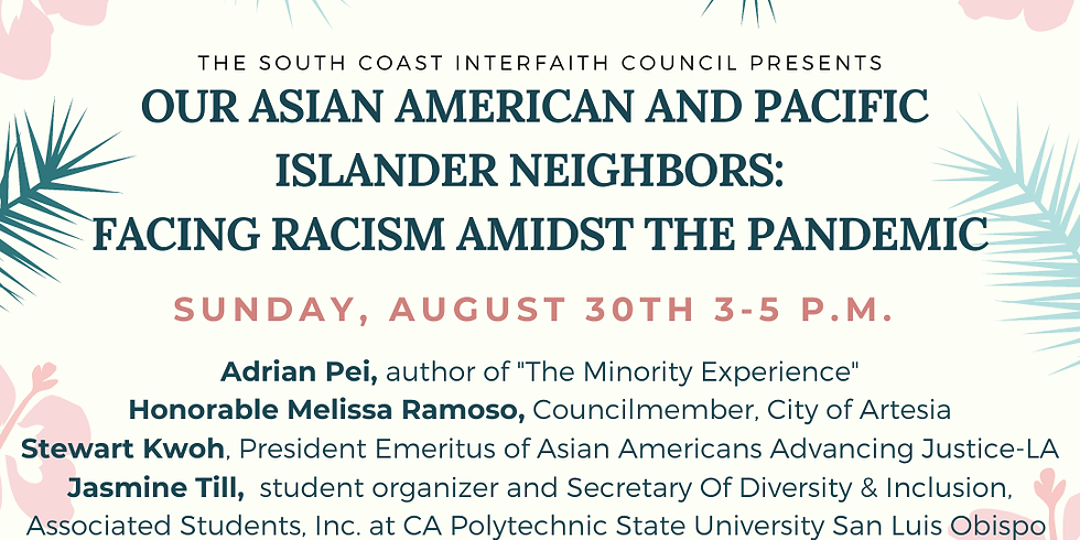 Our Asian American & Pacific Islander Neighbors: Facing Racism Amidst the Pandemic
