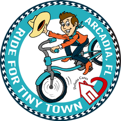 ride for tiny town logo COLOR flat