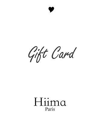 Gift card Hiima